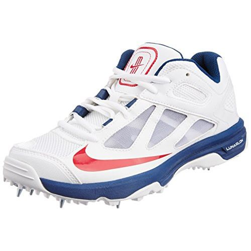 3031d73a76d6 ... Nike Lunar Dominate Cricket Shoes Blue ...