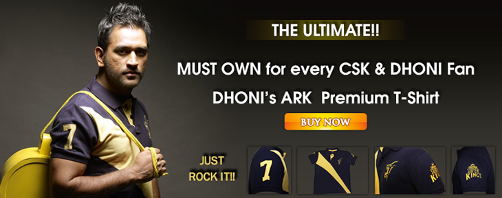 Dhoni Ark Polo Shirt
